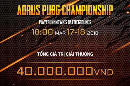 GIGABYTE công bố AORUS PUBG Championship 7