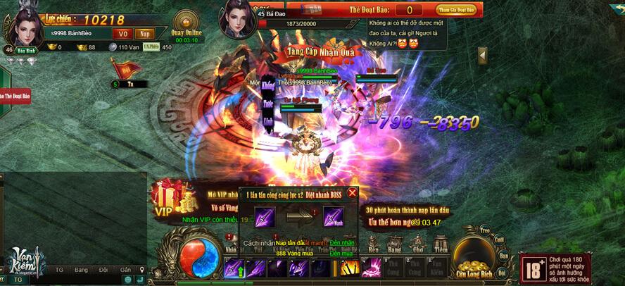 GameLandVN tặng 100 giftcode Vạn Kiếm 1