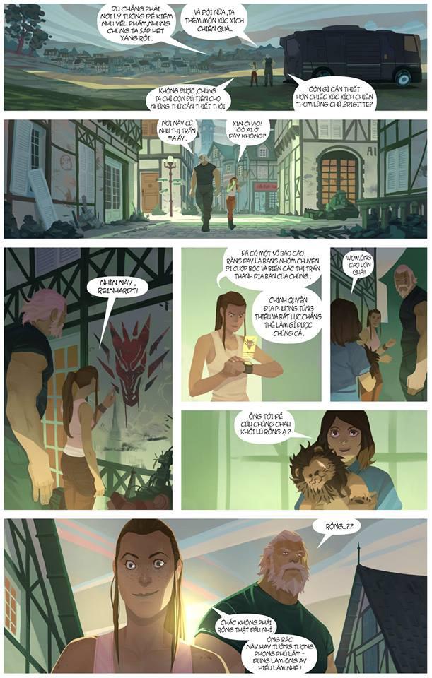 Overwatch Comic: Dragon Slayer (Kẻ diệt rồng) - Trang 3