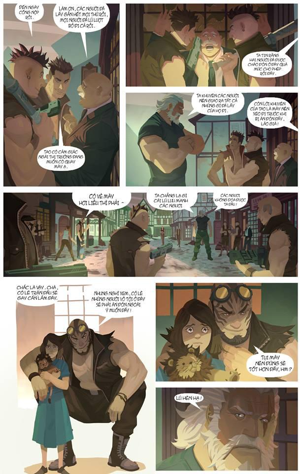 Overwatch Comic: Dragon Slayer (Kẻ diệt rồng) - Trang 4