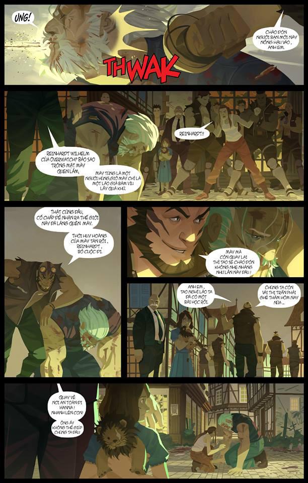 Overwatch Comic: Dragon Slayer (Kẻ diệt rồng) - Trang 5