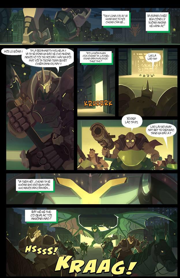 Overwatch Comic: Dragon Slayer (Kẻ diệt rồng) - Trang 7