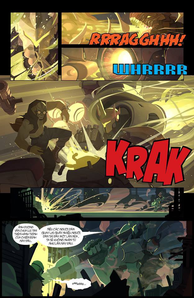 Overwatch Comic: Dragon Slayer (Kẻ diệt rồng) - Trang 9