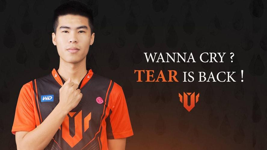 Hope thay Tear làm huấn luyện viên của UTM Esports