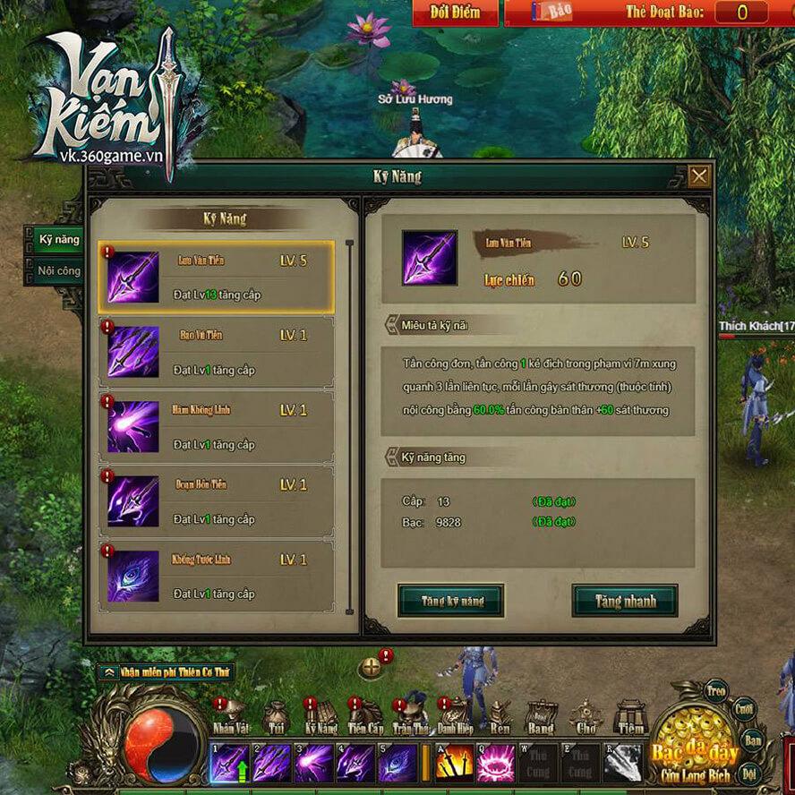 Đường Môn webgame Vạn Kiếm