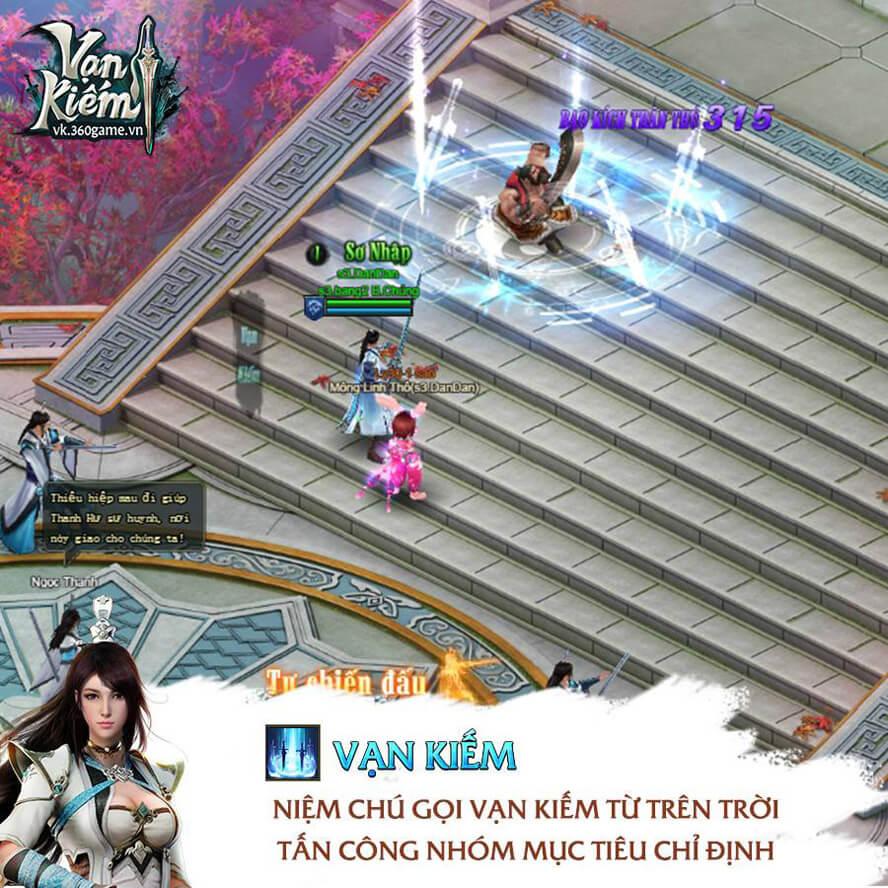 Võ Đang webgame Vạn Kiếm