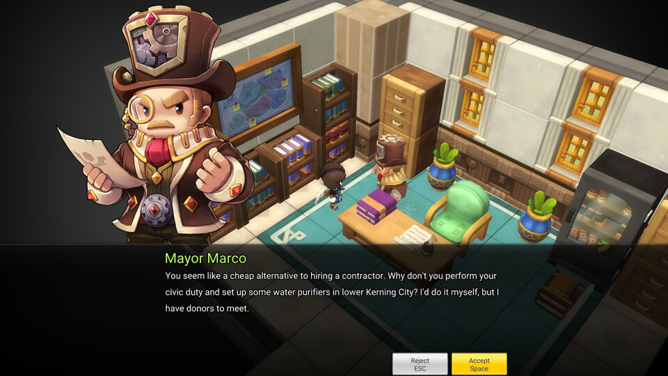 MapleStory 2 Closed Beta 2 - Screenshot 3