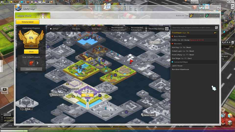 MapleStory 2 Closed Beta 2 - Screenshot 4