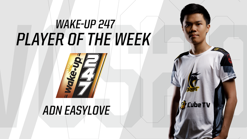 Player of the week 2 ADN EasyLove