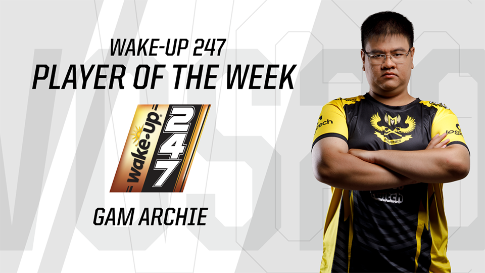 Player of the Week 3 - GAM Archie