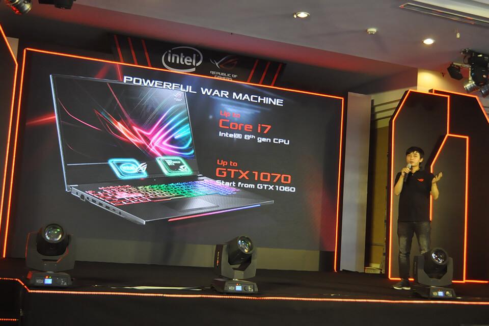 Bộ đôi ROG Strix mới được trang bị CPU Intel Core thế hệ 8 mới nhất