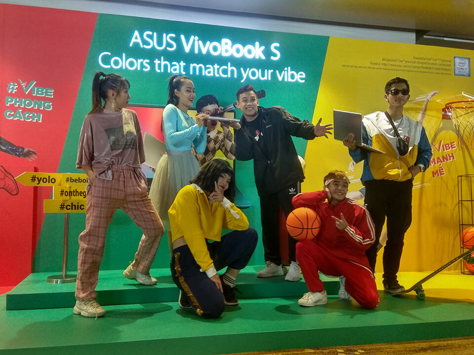 ASUS Việt Nam ra mắt laptop VivoBook S mới