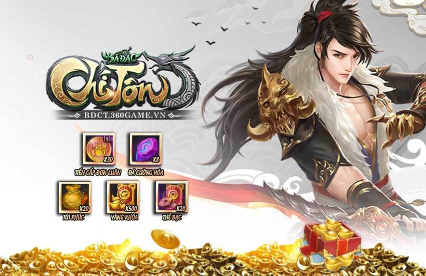 GameLandVN tặng 100 giftcode Bá Đao Chí Tôn