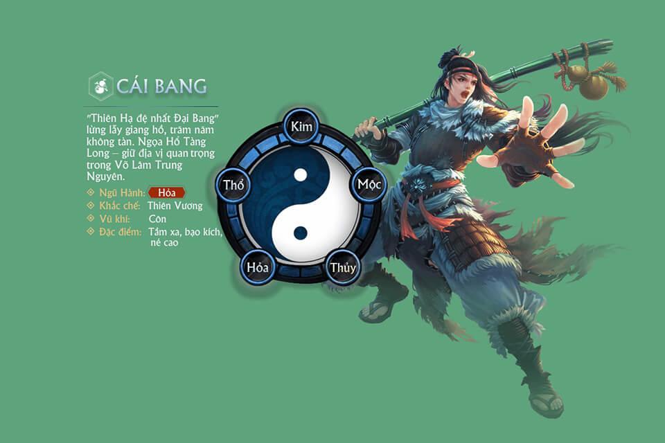 Cái Bang - Võ Lâm Truyền Kỳ H5