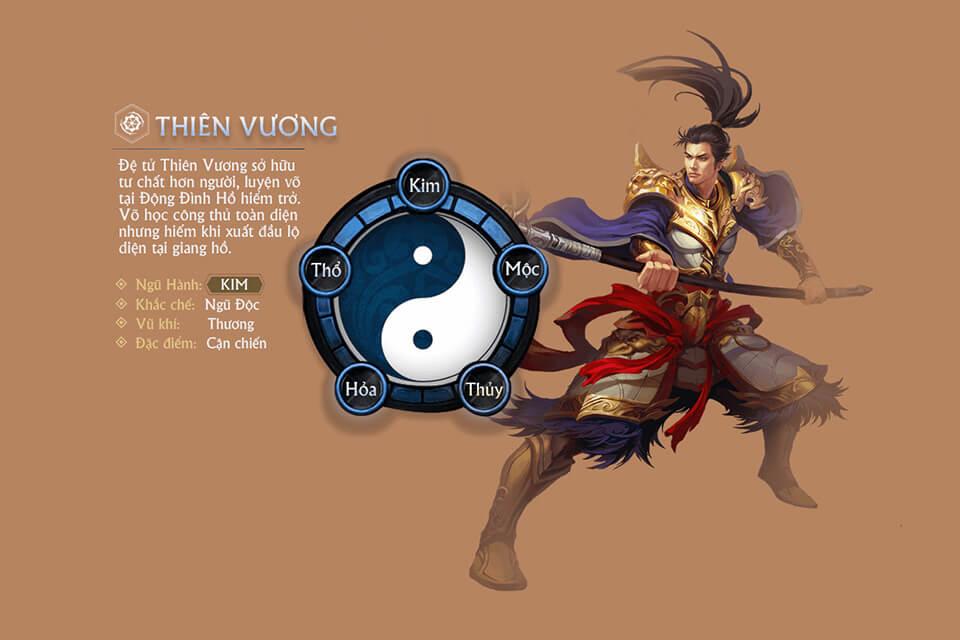 Thiên Vương - Võ Lâm Truyền Kỳ H5