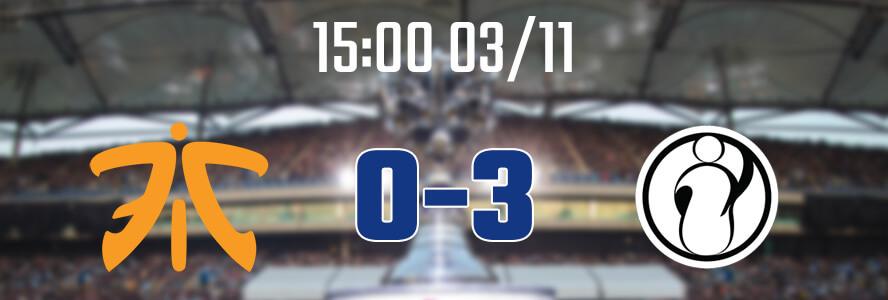 15:00 03/11 – IG 3-0 FNC