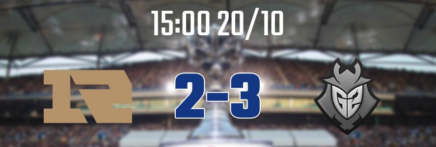 15:00 20/10 – RNG 2-3 G2