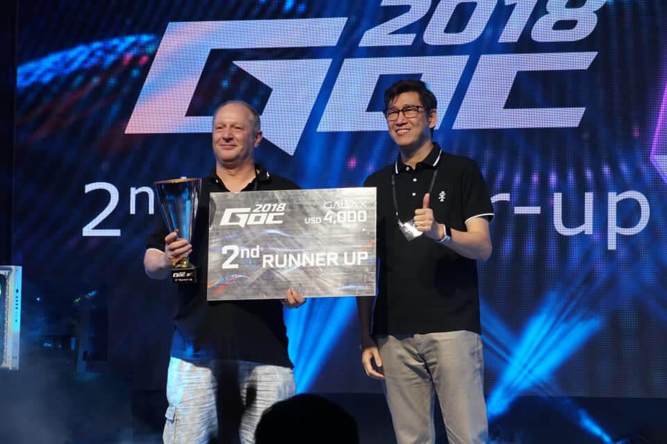 Tobias Bergstrom vô địch cuộc thi ép xung GOC 2018 2
