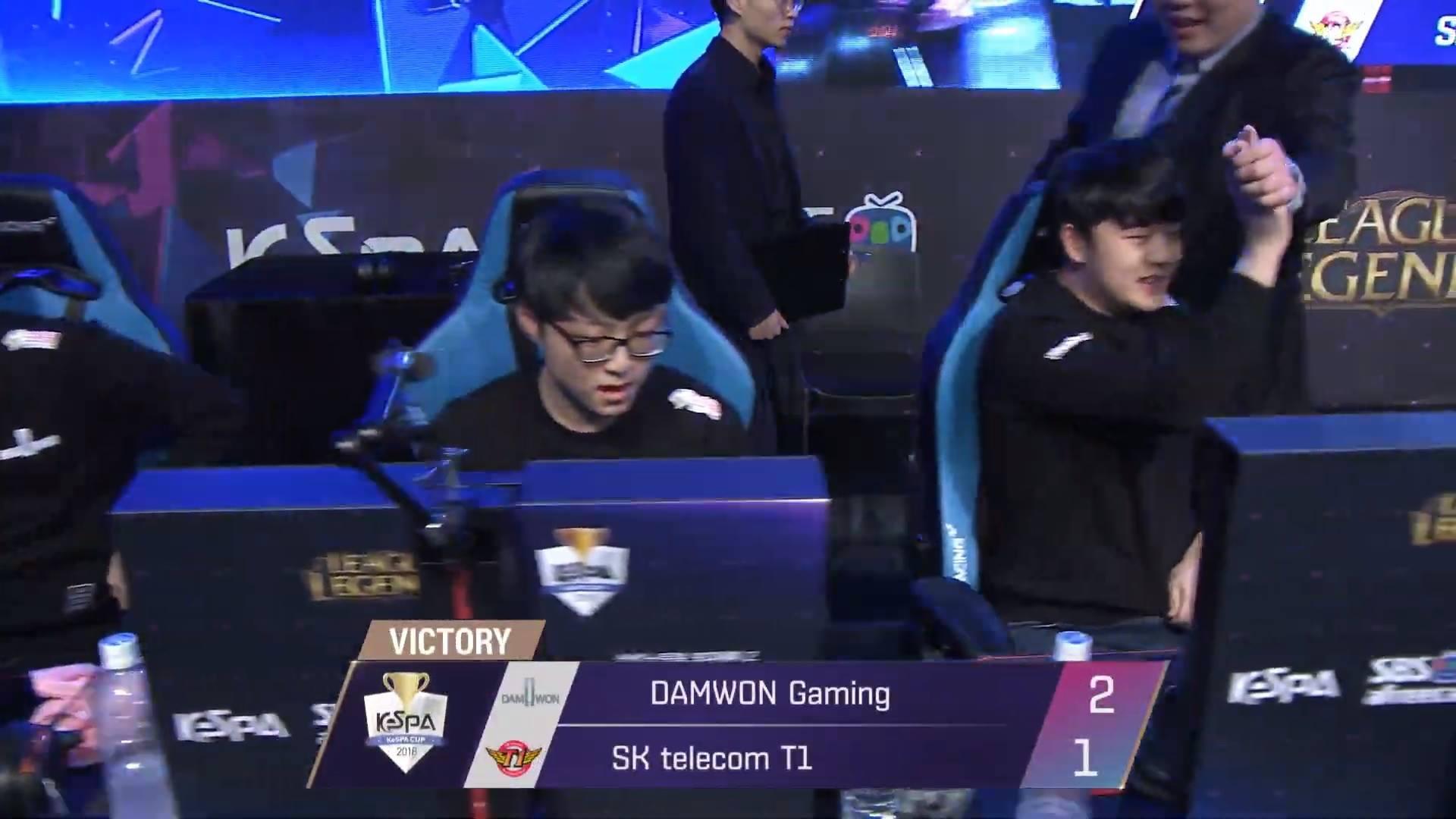 KeSPA Cup 2018: DAMWON Gaming vs SK Telecom T1