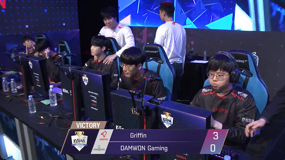 KeSPA Cup 2018: Griffin vs DAMWON Gaming