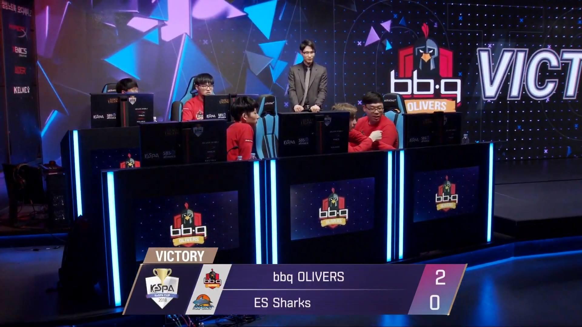 KeSPA Cup 2018: BBQ vs ESS