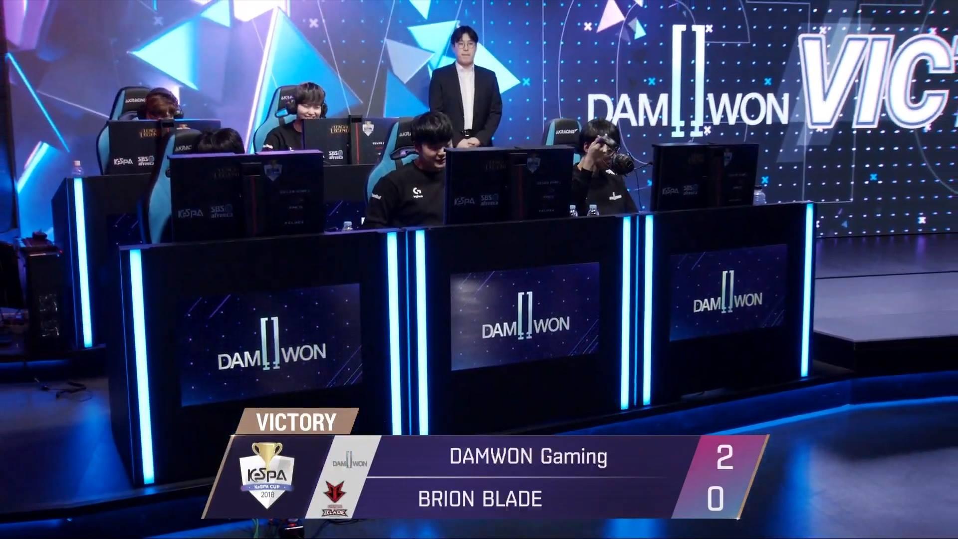 KeSPA Cup 2018: DWG vs BRB