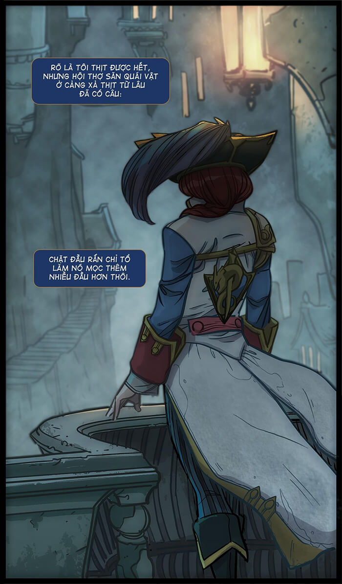 Miss Fortune: Vận may mỉm cười - Trang 03
