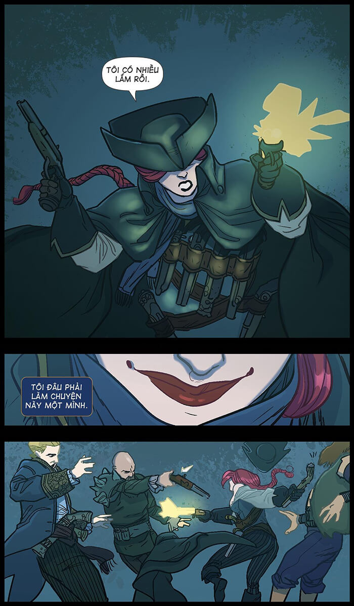 Miss Fortune: Vận may mỉm cười - Trang 43