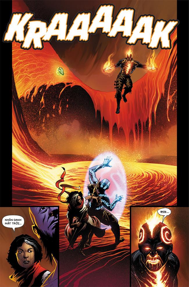 Ryze Vùng đất cháy - Trang 18