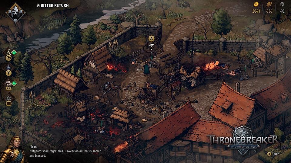 Đánh giá Thronebreaker: The Witcher Tales - Hình ảnh 2