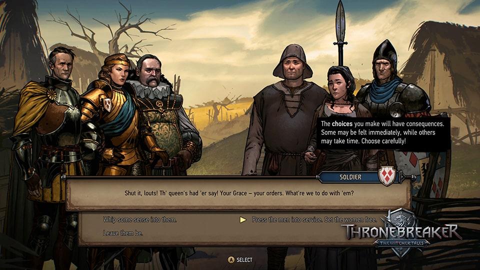 Đánh giá Thronebreaker: The Witcher Tales - Hình ảnh 5