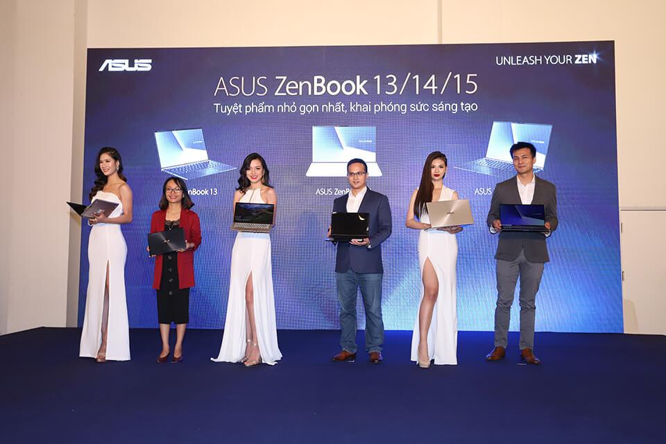 ASUS Việt Nam giới thiệu 3 mẫu laptop Zenbook mới - Hình ảnh 1