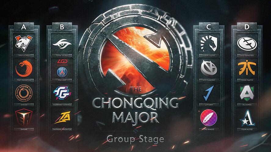 Kết quả chia bảng The Chongqing Major