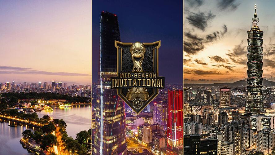MSI 2019 diễn ra tại Việt Nam và Đài Loan