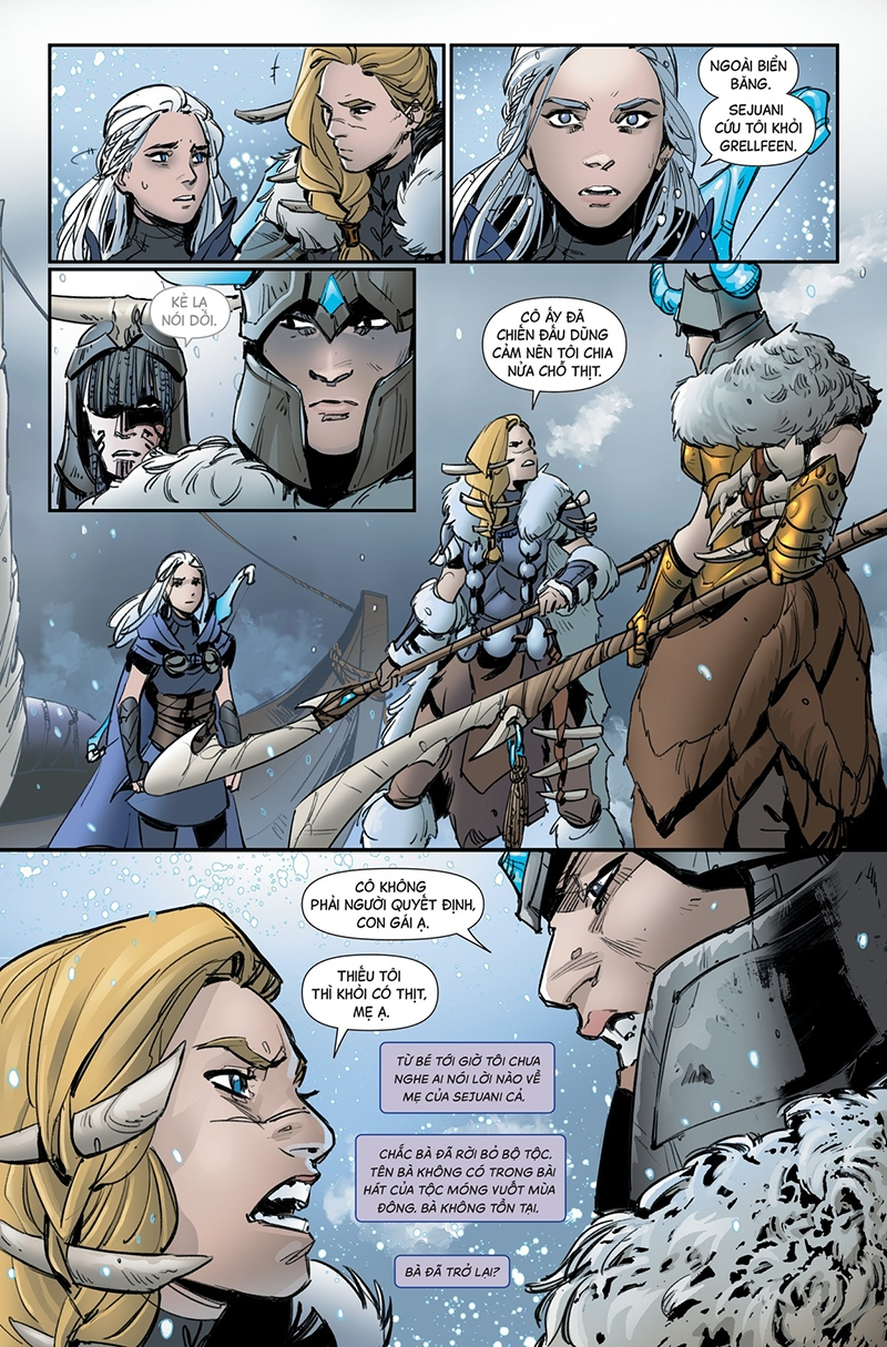 Ashe Chiến Mẫu Kỳ 3 - Trang 22