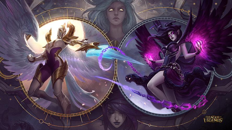 Liên Minh Huyền Thoại cập nhật Kayle và Morgana