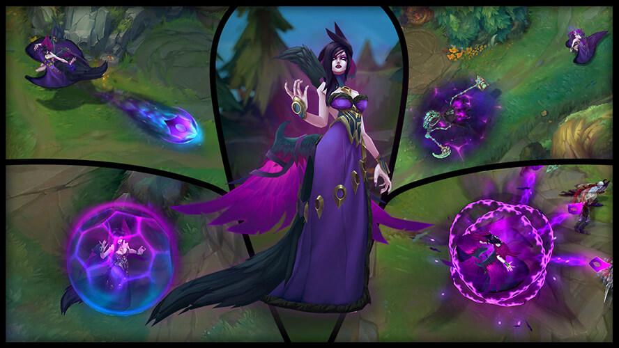Liên Minh Huyền Thoại cập nhật Morgana