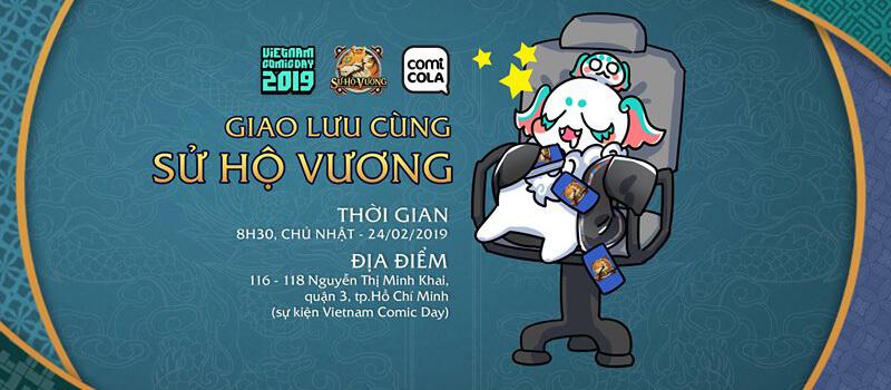 Giao lưu cùng nhóm dự án Sử Hộ Vương tại Vietnam Comics Day 2019
