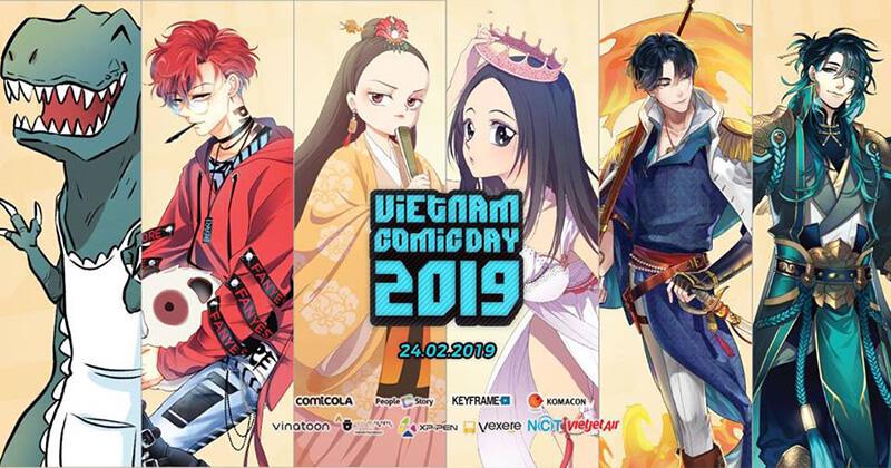 Vietnam Comics Day 2019 diễn ra vào cuối tuần này
