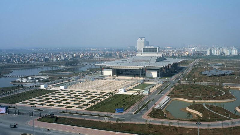 Trung Tâm Hội Nghị Quốc Gia (Cổng số 1, Đại lộ Thăng Long, Mễ Trì, Nam Từ Liêm, Hà Nội)