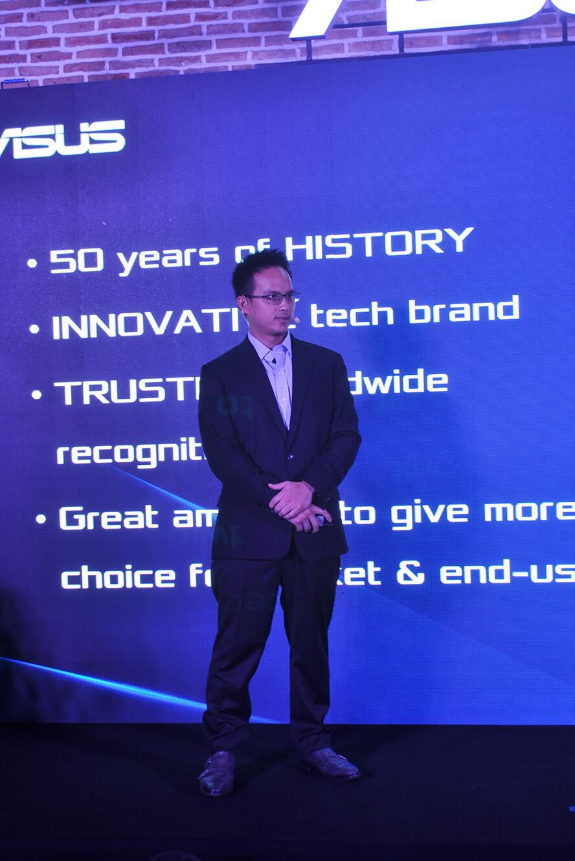 Ông Eric Lee, Giám đốc ASUS Việt Nam