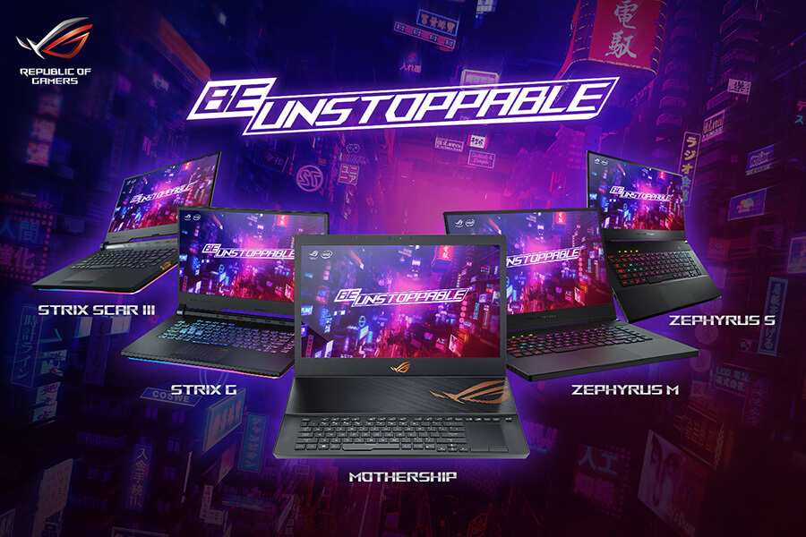 ASUS Be Unstoppable