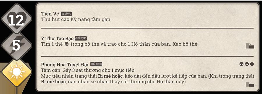 Danh sách hộ thần game Sử Hộ Vương 120