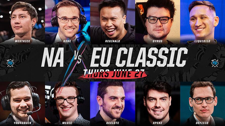 NA vs. EU Classic Show Match