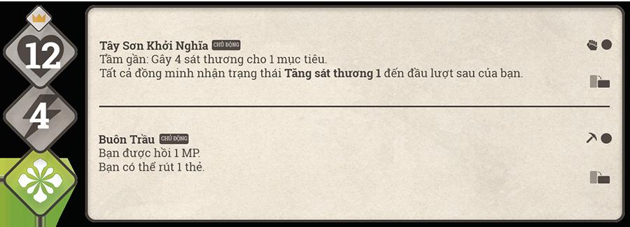 Danh sách hộ thần game Sử Hộ Vương 84