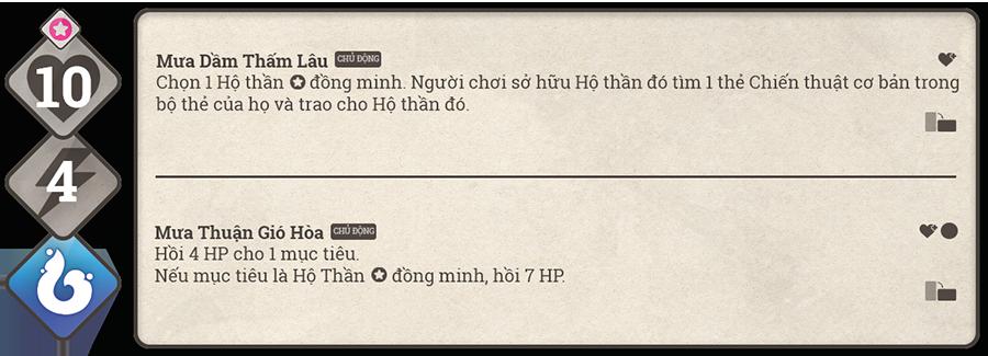 Danh sách hộ thần game Sử Hộ Vương 96
