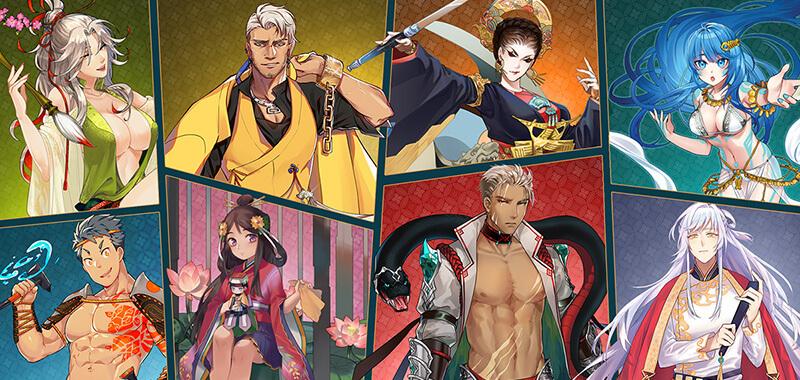 Các nhân vật trong Sử Hộ Vương