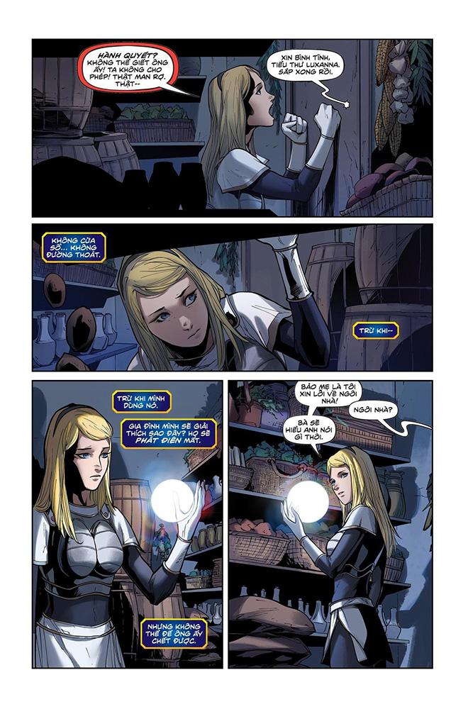 Truyện tranh Liên Minh Huyền Thoại - Lux Kỳ 3 - Trang 5