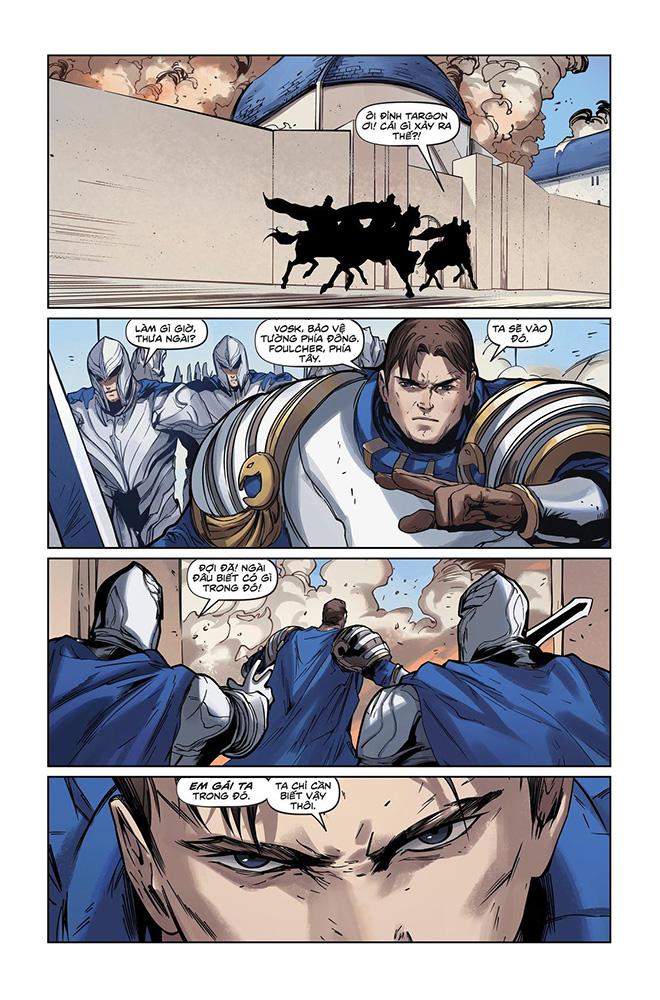 Truyện tranh Liên Minh Huyền Thoại - Lux Kỳ 3 - Trang 14