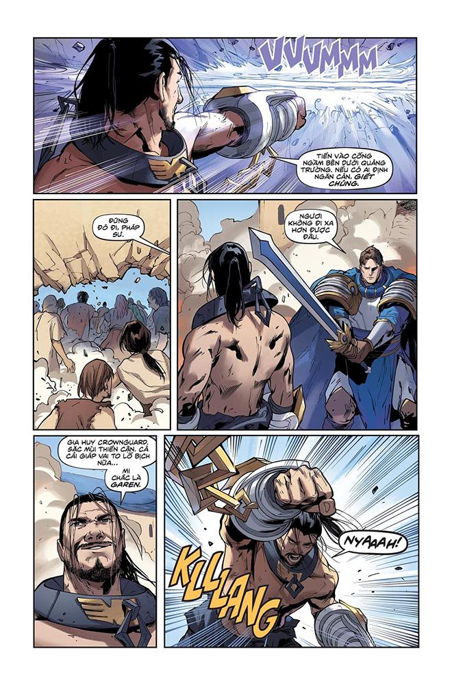 Truyện tranh Liên Minh Huyền Thoại - Lux Kỳ 3 - Trang 16